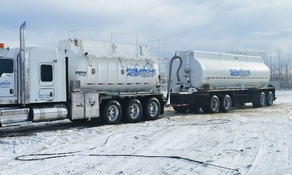 Avalanche Acid Hauling Ltd. Fleet and Equipment